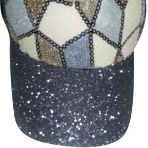 Glam rock baseball cap summer visor sunhat